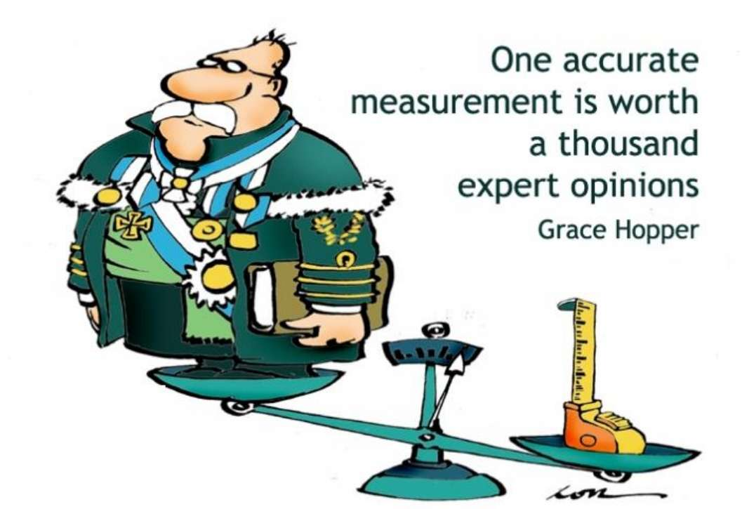 One_accurte_measurement_is_worth_a_thousand_expert_opinions