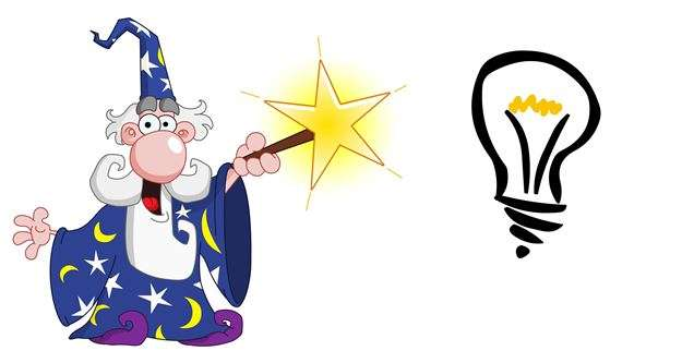 wizard converting bulb