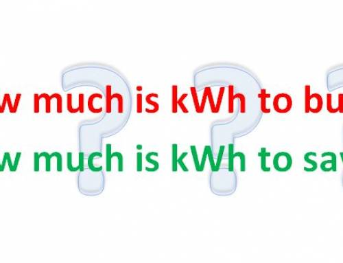 What is kWh worth at your plant?