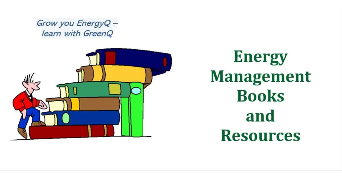Cover to post Energy Management Books and Resources