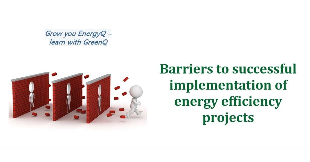Cover image to post Barriers to successful implementation of energy efficiency projects
