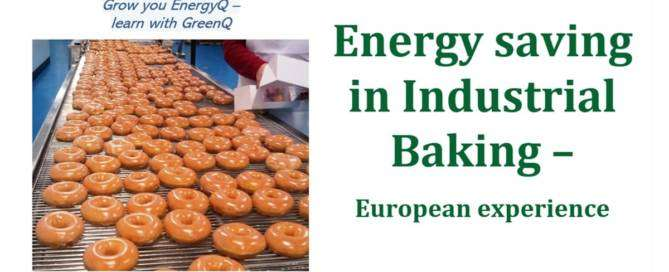 Cover image for post Energy saving projects in industrial baking - European experience