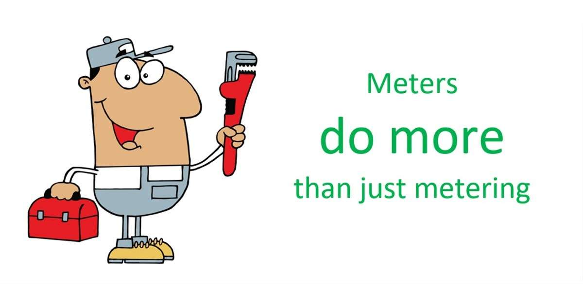 Cover for the post Meters can save your facility from troubles